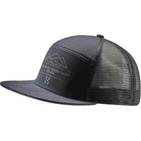 Haglöfs Trucker Cap true black/slate